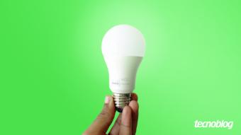Smart Lâmpada Wiz A60: luzes coloridas e boa integração