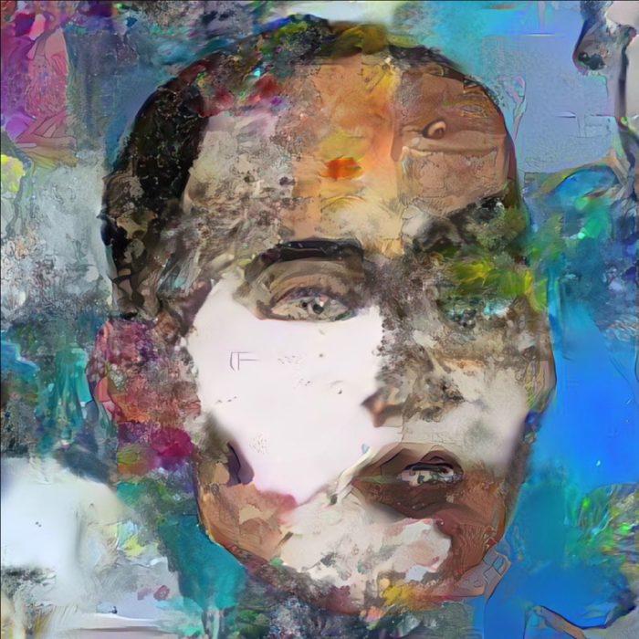 """NFT """"Sophia Instantiation"""", retrato da robô Sophia (Imagem; Reprodução/Niffy Gateway)"""
