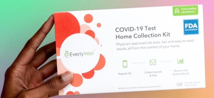 Tinder distribui testes de COVID-19 (Imagem: Divulgação / Everlywell)