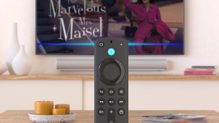 Amazon Fire TV Stick 4K acompanha novo controle (Imagem: Reprodução/Amazon)