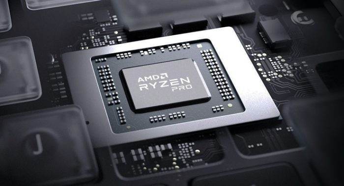 Chip AMD Ryzen Pro (imagem: reprodução/AMD)
