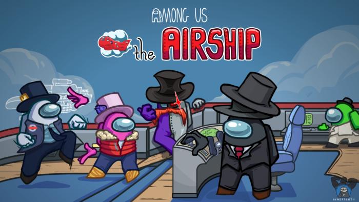 Among Us ganha mapa Airship em março (Imagem: Divulgação/Innersloth)