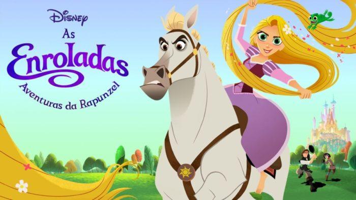 As Enroladas Aventuras de Rapunzel (Imagem: Divulgação/Disney)