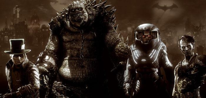 Os vilões do DLC Época da Infâmia (Imagem: Divulgação/Rocksteady Studios/Warner Bros. Interactive Entertainment)