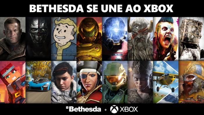Xbox dá boas-vindas à Bethesda (Imagem: Divulgação/Xbox)