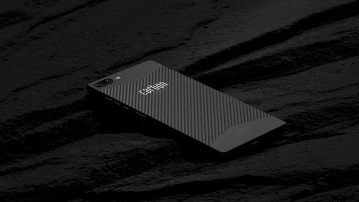 Carbon 1 MK II é um dos celulares mais leves do mundo (Imagem: Divulgação/Carbon Mobile)