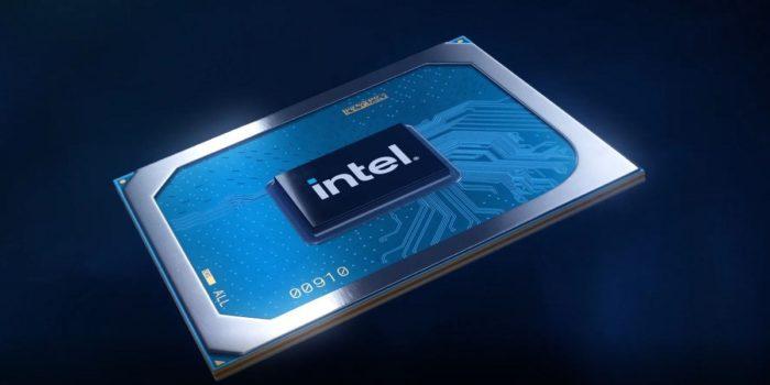 Chip Intel (imagem: Twitter/Intel)
