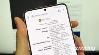 Chrome de 64 bits chega a celulares Android com no mínimo 8 GB de RAM