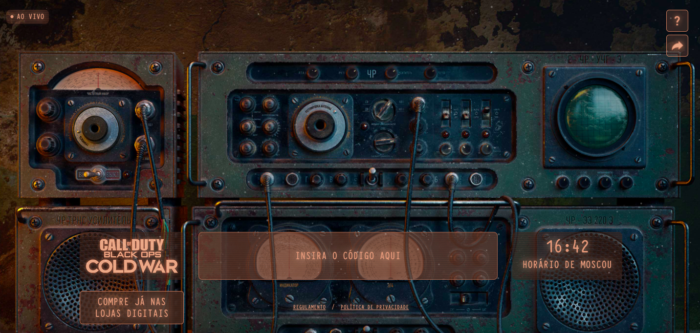 Call of Duty ganha brincadeira com rádio fantasma (Imagem: Reprodução)