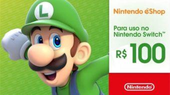 Como adicionar créditos no eShop do Nintendo Switch