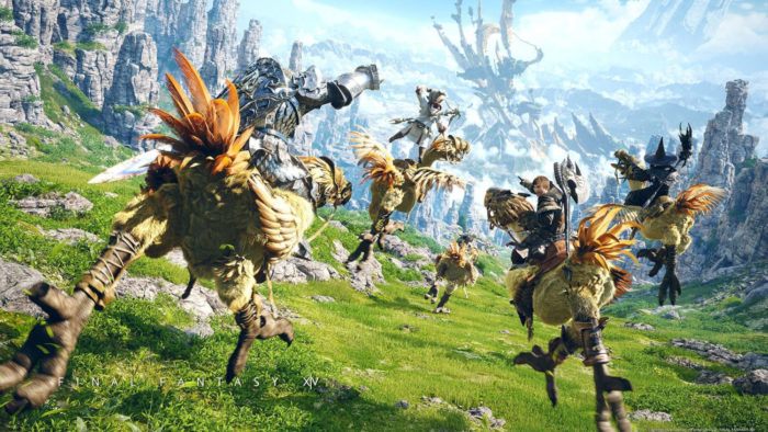 Final Fantasy 14 Online (Imagem: Divulgacão/Square Enix)