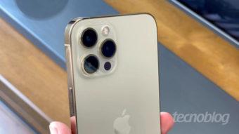 Câmera do iPhone 13 Pro Max deverá ter lente com maior abertura