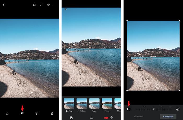 Como cortar fotos no celular [iOS e Android] / Google Fotos / Reprodução