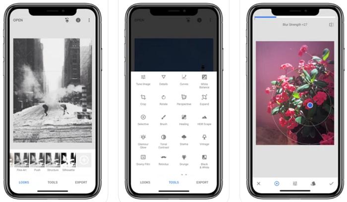 Como cortar fotos no celular [iOS e Android] / Snapseed / Reprodução