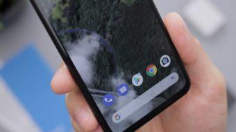 Nova prévia do Android 12 habilita modo compacto para uso com uma mão