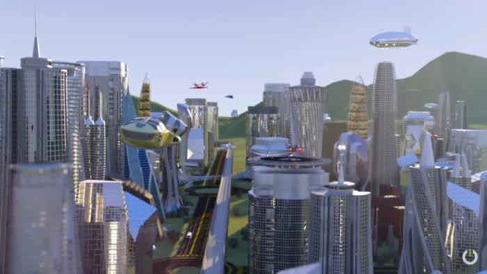 Decentraland em vídeo promocional (Imagem: Divulgação)