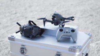 DJI FPV é um drone híbrido com câmera 4K, óculos e controle por movimento