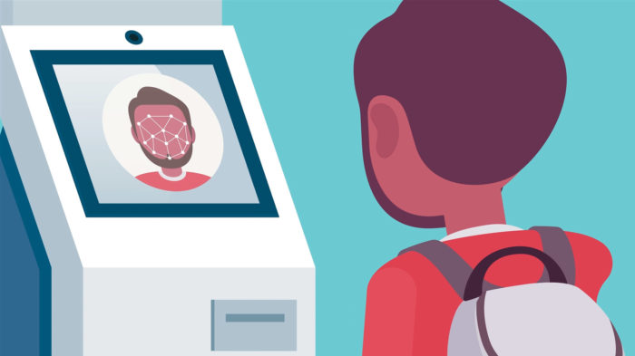 Passageiros podem usar reconhecimento facial no embarque (Imagem: Reprodução/Serpro)