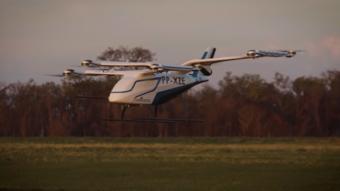 Embraer revela primeiras imagens de táxi voador brasileiro