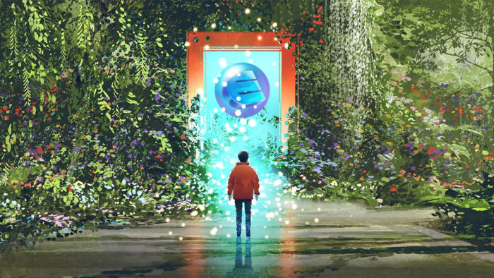 Enjin e GameTalkTalk lançarão NFTs sustentáveis (Imagem: Divulgação/Enjin)