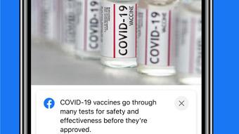 Facebook e Instagram terão aviso em todo post sobre vacinas contra COVID-19
