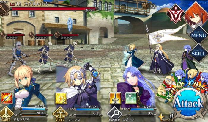 Fate/Grand Order (Imagem: Reprodução/Delightworks/Aniplex)