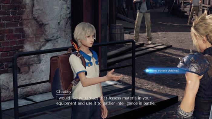 Chadley é capaz de desenvolver matérias poderosas (Imagem: Reprodução/Square Enix)