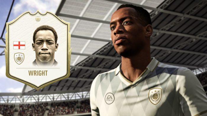 Ian Wright é uma das lendas no FUT do FIFA 21 (Imagem: Reprodução)