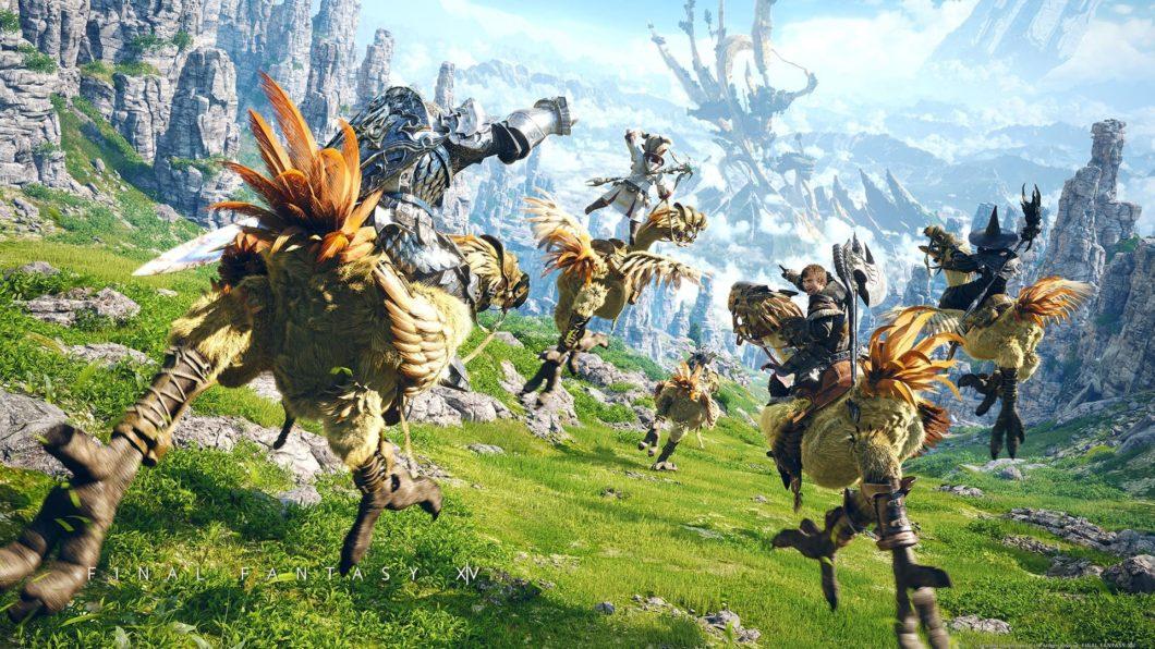 Final Fantasy 14 é o MMORPG da Square Enix (Imagem: Divulgação/Square Enix)