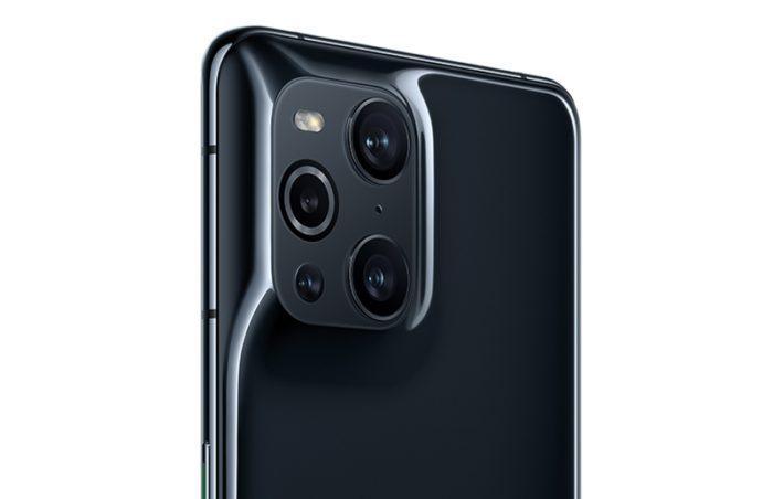 Módulo de câmeras do Find X3 Pro (imagem: divulgação/Oppo)