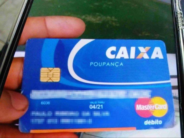 Foto de cartão de débito vazado (imagem: divulgação/vpnMentor)
