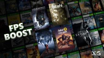 Cinco jogos da Bethesda ganham FPS Boost no Xbox Series X|S