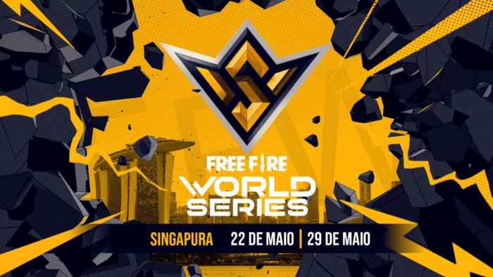 Free Fire World Series 2021 Singapura começa em 22 de maio (Imagem: Divulgação/Garena)