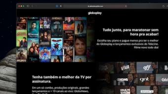 Globoplay lança plano com canais ao vivo e Telecine