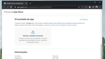 Google detalha coleta de dados no iPhone ao atualizar Gmail e mais apps