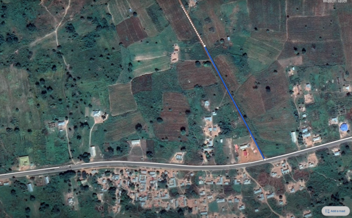 Google Maps vai permitir desenhar estradas que não aparecem no mapa (Imagem: Reprodução/Tecnoblog)