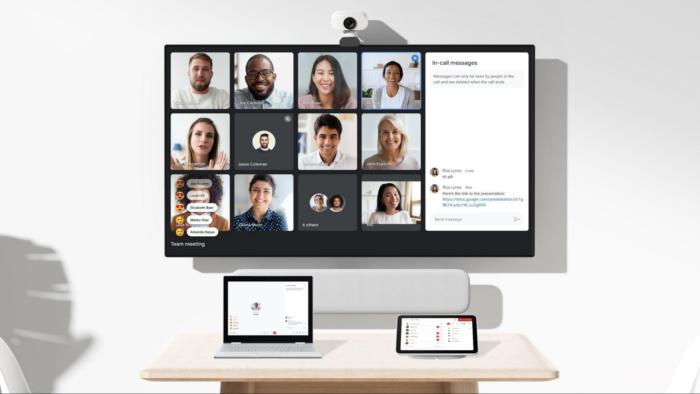 Google Meet terá experiência de segunda tela (Imagem: Divulgação/Google)