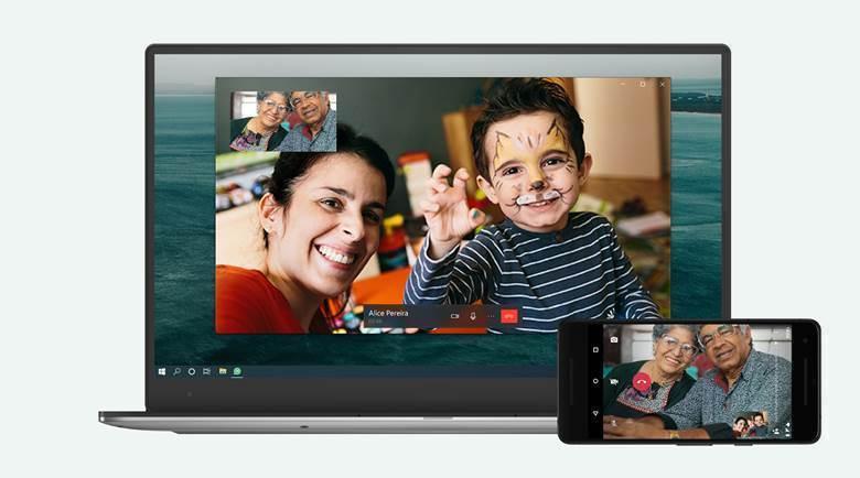 Chamadas de voz e vídeo no desktop (Imagem: Divulgação)