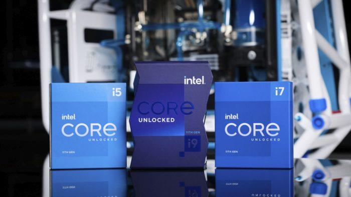 Chips Core de 11ª geração (imagem: divulgação/Intel)