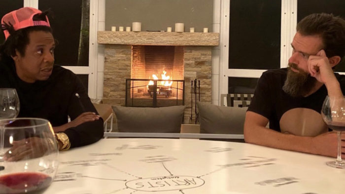 Jay-Z e Jack Dorsey (Imagem: Reprodução/Twitter)