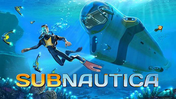 Subnautica é um dos jogos grátis para PS4 e PS5 (Imagem: Reprodução)