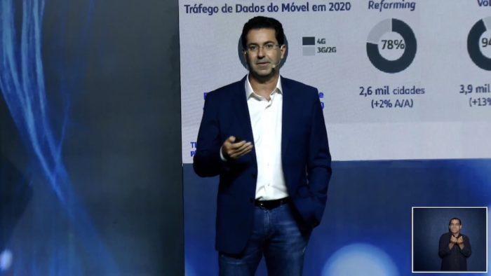 Leonrdo Capdeville, diretor de tecnologia da TIM (Imagem: Reprodução)