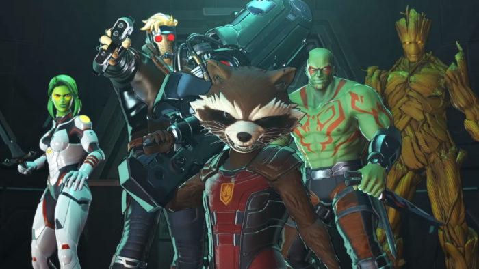 """""""E aí, punk, vai encarar?"""" (Imagem: Reprodução/Team Ninja/Nintendo) / Como jogar Marvel Ultimate Alliance 3"""
