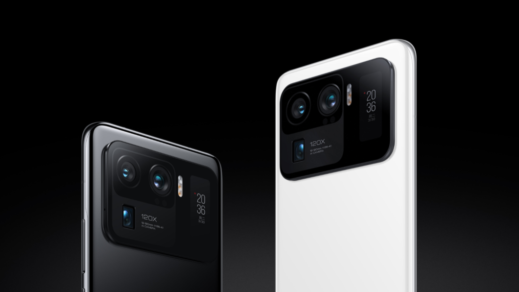 Xiaomi Mi 11 Ultra está entre os primeiros celulares a serem atualizados para o Android 12 (Imagem: Divulgação/Xiaomi)