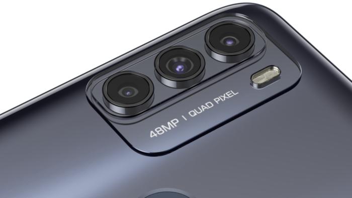 Câmera tripla do Moto G50
