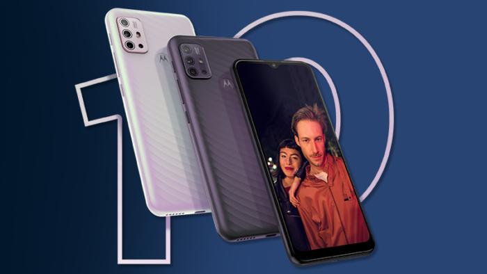 Motorola Moto G10 (Imagem: Reprodução/Motorola)