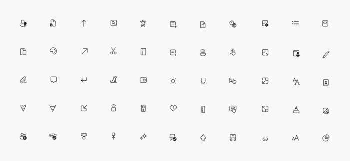 Novos ícones para a build 21327 do Windows 10 (Imagem: divulgação/Microsoft)