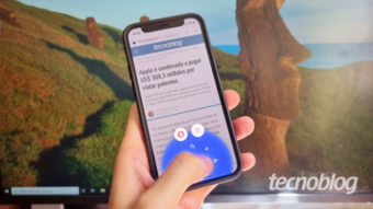 Opera para iOS muda de nome e ganha novo visual