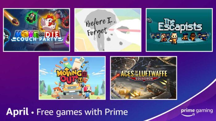 Prime Gaming de abril / Divulgação / Amazon