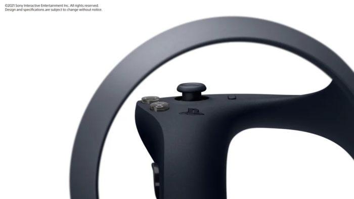 Controle do PSVR 2 terá várias novidades (Imagem: Divulgação/Sony)